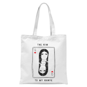 The Kim To My Kanye Tote Bag - White