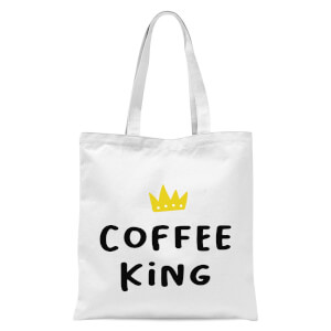 Coffee King Tote Bag - White
