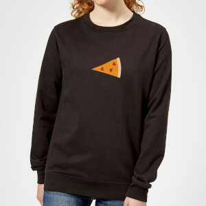 Pizza Part Women's Sweatshirt - Black