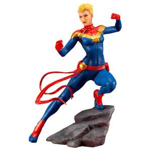 Statuette Captain Marvel en PVC, échelle 1:10 (17cm), Marvel Universe Avengers Series ARTFX+– Kotobukiya