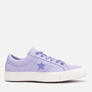 Converse Women's One Star Ox Trainers - Washed Lilac/Wild Lilac/Egret