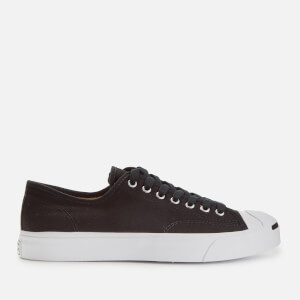 Converse Men's Jack Purcell Ox Trainers - Black/White/Black