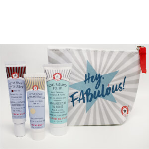 First Aid Beauty Exfoliate and Hydrate 3 Piece Gift Bag (Free Gift)