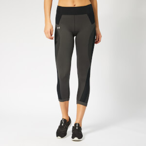 Under Armour Women's Vanish Seamless Crop Top - Jet Grey