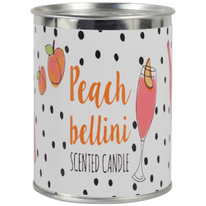 Candlelight Peach Bellini Scented Ring Pull Candle
