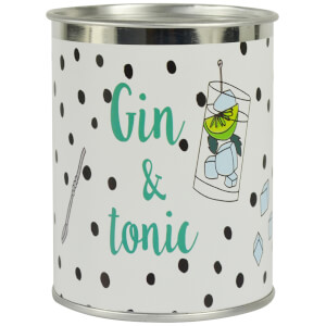 Candlelight Gin & Tonic Scented Ring Pull Candle