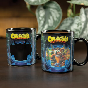 Taza termosensible - Crash Bandicoot