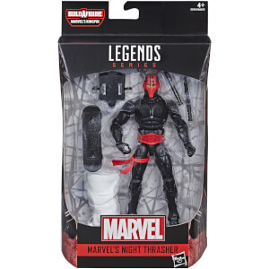Hasbro Marvel Legends Series Spider-Man 6 Inch Night Thrasher Figure