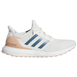 adidas Ultra Boost Running Shoes - Cloud White/Tech Ink