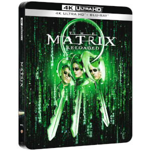 Matrix Reloaded 4K Ultra HD (incluye Blu-ray) - Steelbook Edición Limitada Exclusivo de Zavvi