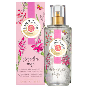 Roger&Gallet Limited Edition Gingembre Rouge Wellbeing Water 100ml