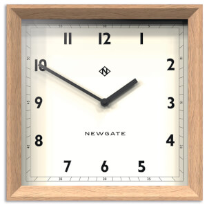 Newgate Old Joe Wall Clock - Light Oak