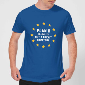 Plan B Is A Rapper Men's T-Shirt - Royal Blue