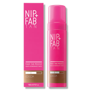 NIP+FAB Faux Tan Mousse 150ml - Cocoa