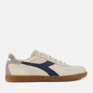 4393a74bd275 Diadora Men s Tokyo Trainers - White Swan Insignia Blue