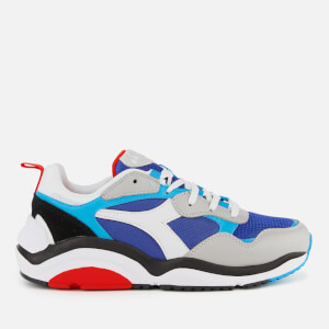 Diadora Men's Whizz Run Trainers - DP Ultramarine/White/Hawaiian OC