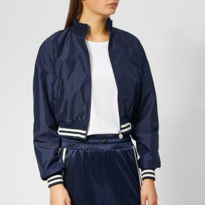 Diadora Women's Barra Track Jacket - Blue Plum