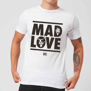 Batman Mad Love Men's T-Shirt - White