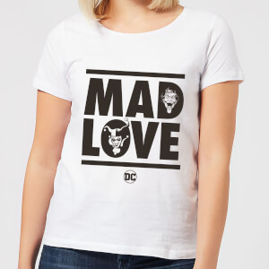 Batman Mad Love Women's T-Shirt - White