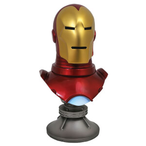 Diamond Comics Marvel Comics Legends in 3D Bust 1/2 Iron Man 25 cm