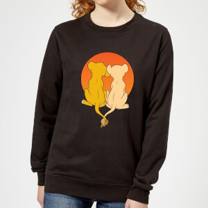 Disney Lion King We Are One Women's Sweatshirt - Black
