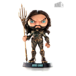 Iron Studios Justice League Mini Co. Figurine Aquaman en PVC 14 cm