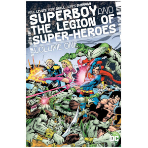 DC Comics - Superboy And The Legion Of Superheroes Hard Cover