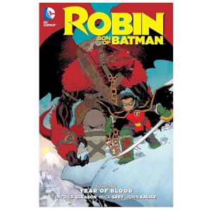 DC Comics - Robin Son Of Batman Hard Cover Vol 01 Year Of Blood