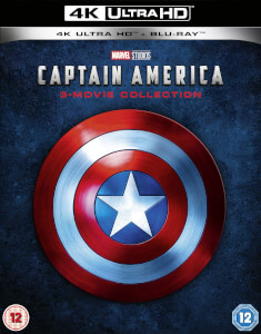 Captain America Trilogy - 4K Ultra HD (Includes Blu-ray)
