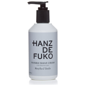 Hanz de Fuko Invisible Shave Cream 237ml