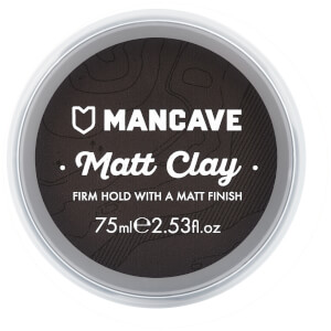 ManCave Matt Hair Clay 75ml