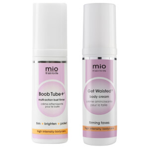 Mio Skincare Get Waisted and Boob Tube+ Travel Size Bundle