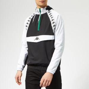 Kappa Men's Authentic Bakit Windbreaker Jacket - Black