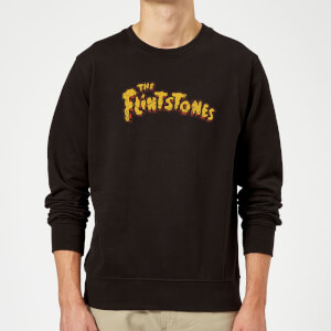 The Flintstones Logo Sweatshirt - Black