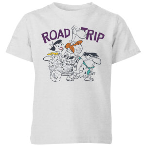 The Flintstones Road Trip Kids' T-Shirt - Grey