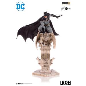 Statuetta deluxe 1:10 Batman, DC Comics (dai disegni di Eddy Barrows) – Iron Studios – 30 cm