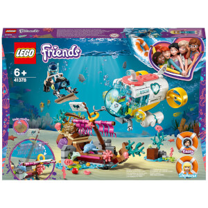 LEGO Friends: Dolphins Rescue Mission Boat Sea Life Set (41378)