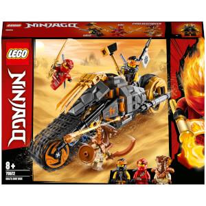 LEGO® NINJAGO®: Moto Todoterreno de Cole (70672)