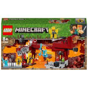 LEGO Minecraft: The Blaze Bridge Building Set (21154)
