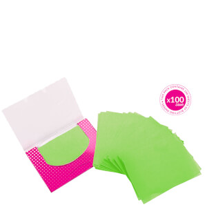 brushworks Tea Tree Blotting Papers (100 Sheets)