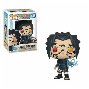 Figurine Pop! Naruto Sasuke Avec Marques De Malédiction EXC