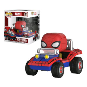 Figura Funko Pop! Ride - Spidermobile EXC - Marvel Comics