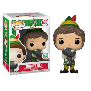 Figurine Pop! Elf Buddy Avec Raton Laveur EXC