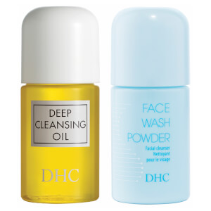 DHC The Refreshing Japanese Double Cleanse Travel Set (Worth £9.00)