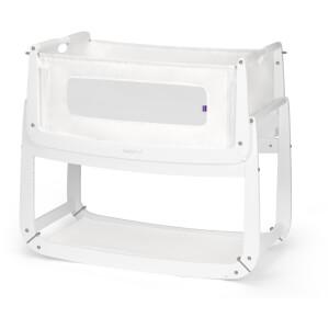 SnüzPod3 Bedside Crib - White
