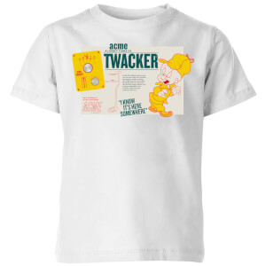 Looney Tunes ACME Twacker Kids' T-Shirt - White