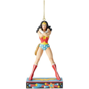DC Comics by Jim Shore Wonder Woman Hanging Ornament 11.0cm