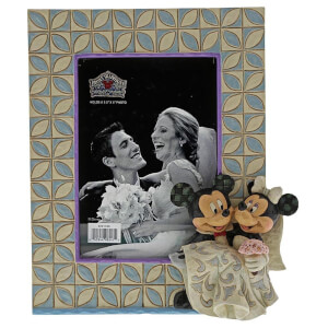 Disney Traditions Mickey and Minnie Wedding Frame 18.0cm