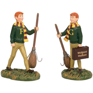 Harry Potter Village The Weasly Twins 8.0cm