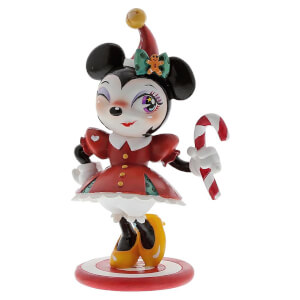 Miss Mindy Minnie Mouse Christmas Figurine 15.0cm